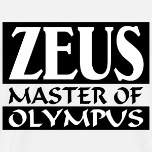 Zeus _-_ Master_Of_Olympus - Men's Premium T-Shirt