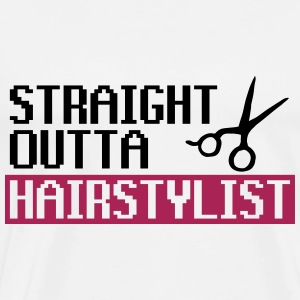Straight Outta Hairstyle - Men's Premium T-Shirt