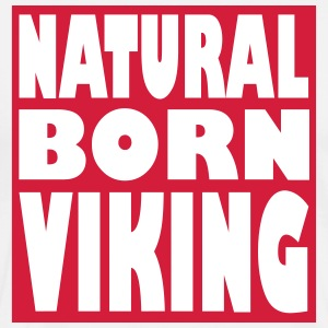 Natural Born Viking 3 - Premium T-skjorte for menn