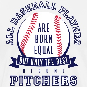 Pitcher are the Best - Men's Premium T-Shirt