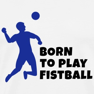Fistball - Premium T-skjorte for menn
