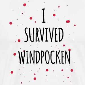 I survived Windpocken 2c - Männer Premium T-Shirt