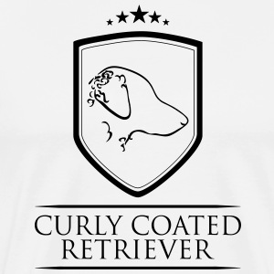 Curly Coated Retriever ARMS - Premium T-skjorte for menn