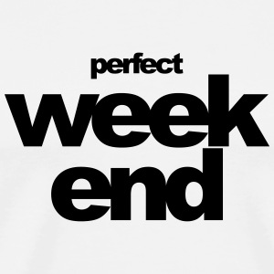 perfekt weekend - Herre premium T-shirt