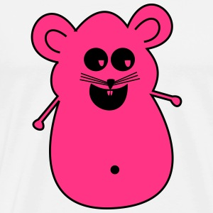 KK mouse pink - Men's Premium T-Shirt