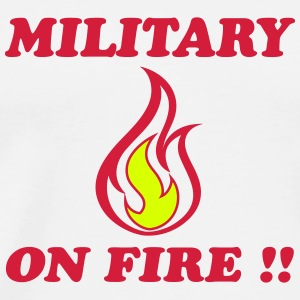 Military on fire !!