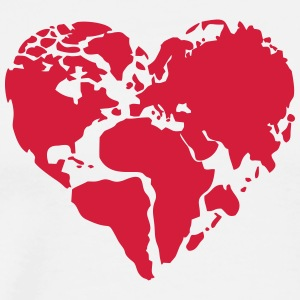 Love the Planet - Männer Premium T-Shirt