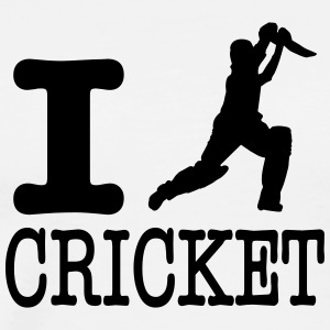 I love cricket / I love cricket - Men's Premium T-Shirt