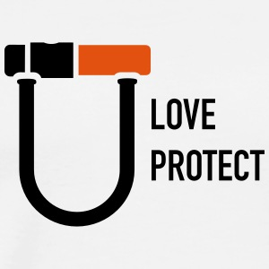 uloveuprotect - T-shirt Premium Homme