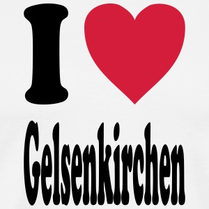 I love Gelsenkirchen - Men's Premium T-Shirt