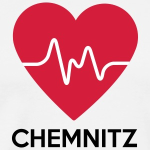 heart Chemnitz - Men's Premium T-Shirt