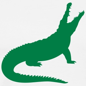 A Crocodile - Men's Premium T-Shirt