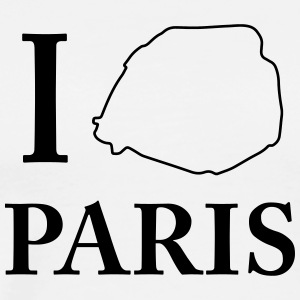 I love Paris I love Capital Shirt city love - Men's Premium T-Shirt