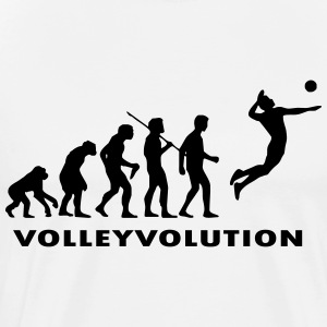 vollevolution - Premium T-skjorte for menn