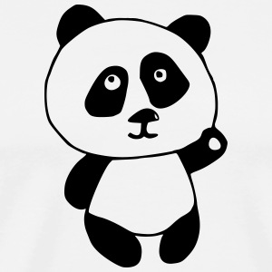 Panda BLACK and WHITE - Männer Premium T-Shirt