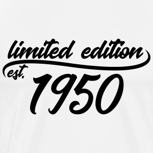 Limited edition est. 1950 - Men's Premium T-Shirt