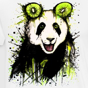 David Pucher Art Kiwipanda - T-shirt Premium Homme