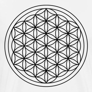 Flower of life - Premium-T-shirt herr
