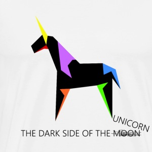 The dark side of the unicorn - Men's Premium T-Shirt