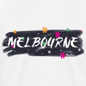 Melbourne #1 - Men's Premium T-Shirt