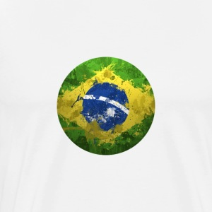 BRAZIL BALL T-SHIRT - Men's Premium T-Shirt