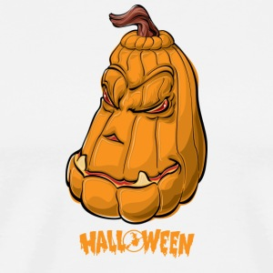 Creepy Pumpkin - Halloween - Men's Premium T-Shirt