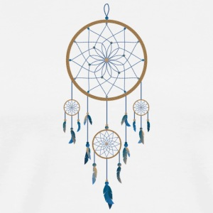 Kultur Dream Catcher - Herre premium T-shirt