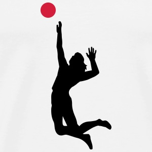 6061912 126238105 Volleyball - Mannen Premium T-shirt