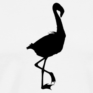 Flamingo Shadowed - Men's Premium T-Shirt