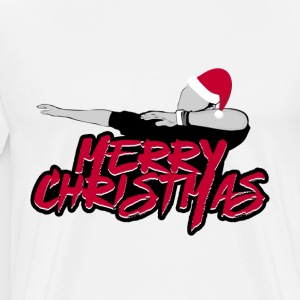 GOD JUL JUL DAB dabbing SCENE - Premium T-skjorte for menn