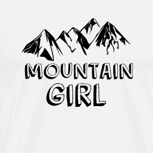 Mountain girl - Men's Premium T-Shirt