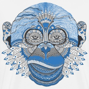 Monkey tattoo mega Sytle - Men's Premium T-Shirt