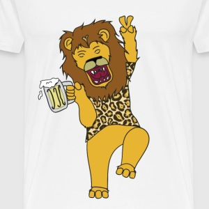 Drunk King - Men's Premium T-Shirt