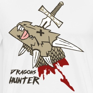 Dragon Hunters - Herre premium T-shirt