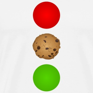 Schokocookie traffic light - Men's Premium T-Shirt