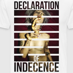 Declaration of Indecence - Denise the Sinner - Men's Premium T-Shirt