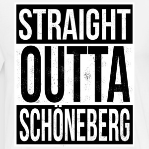 Straight Outta Schöneberg - Men's Premium T-Shirt