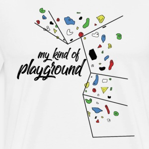my kind of PLAYGROUND - climbing wall T-shirt