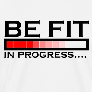 Fit in the process - Men's Premium T-Shirt