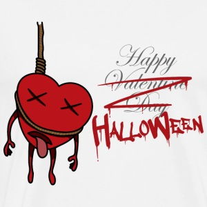 Happy Halloween - valentine day - horror - Männer Premium T-Shirt