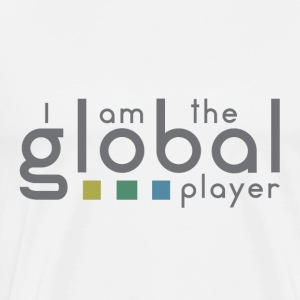 I am the global player - Men's Premium T-Shirt