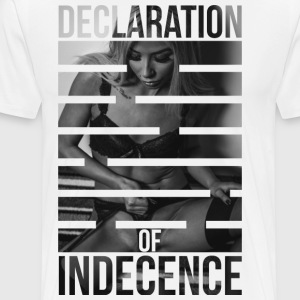 Declaration Of Indecence 2 - Men's Premium T-Shirt