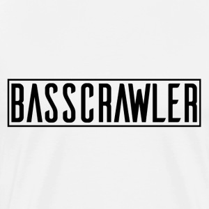 bass Crawler - Premium T-skjorte for menn
