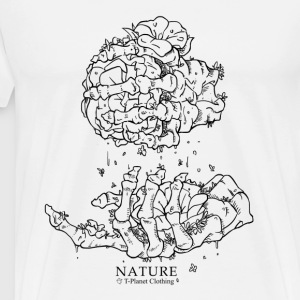 Nature Cloth_01 - Mannen Premium T-shirt
