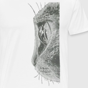Cat Eye - Männer Premium T-Shirt