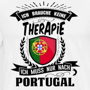 I do not need therapy Portugal - Men's Premium T-Shirt