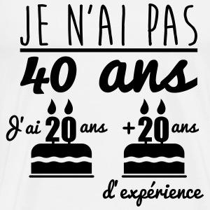 J Ai Pas 40 Ans Cadeau D Anniversaire 40 Ans De Jusdepomme