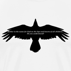 The Crow -Mother - Miesten premium t-paita