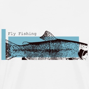 Fly Fishing - Trout 1 - Mannen Premium T-shirt
