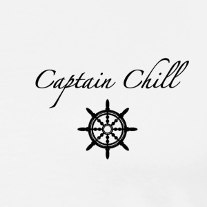 kaptein Chill - Premium T-skjorte for menn